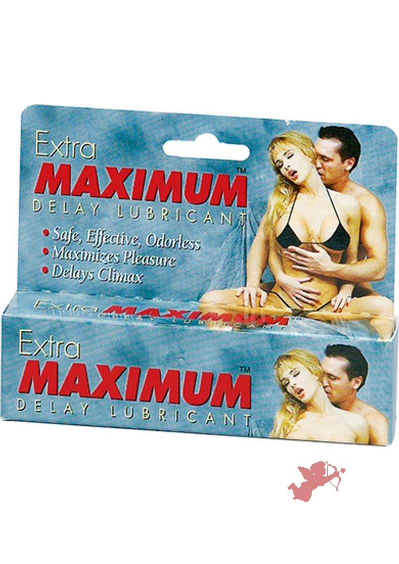 Extra Maximum Delay Lubricant Large