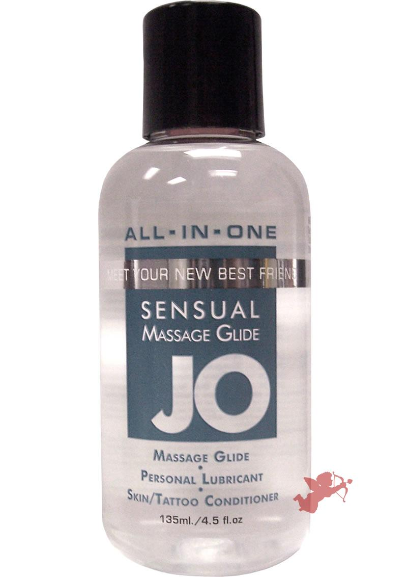 Jo 4.5oz Sensual Massage Oil Unscented