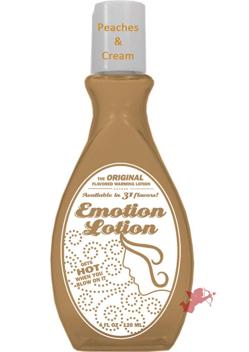 Emotion Lotion Peaches and Cream