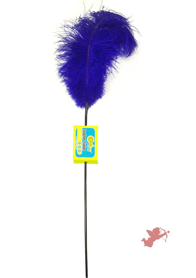 Feather Tickler - Pasion Blue