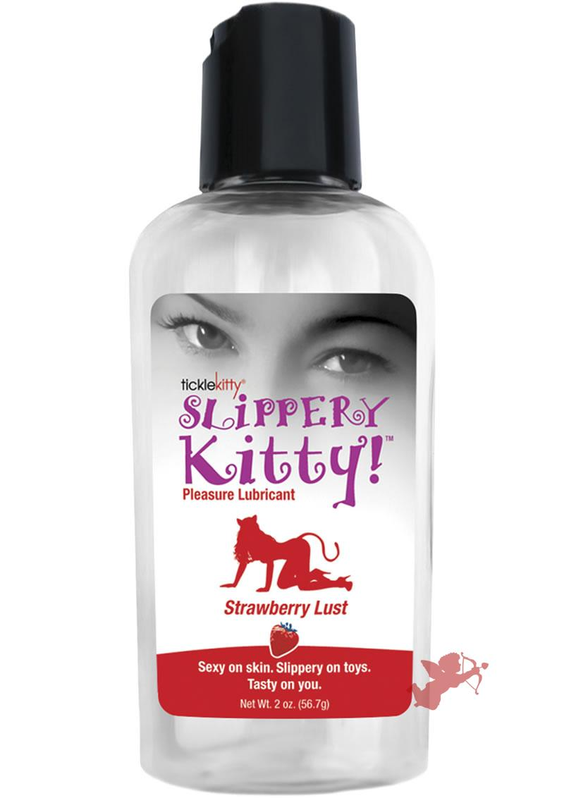 Slippery Kitty Strawberry 2 Oz
