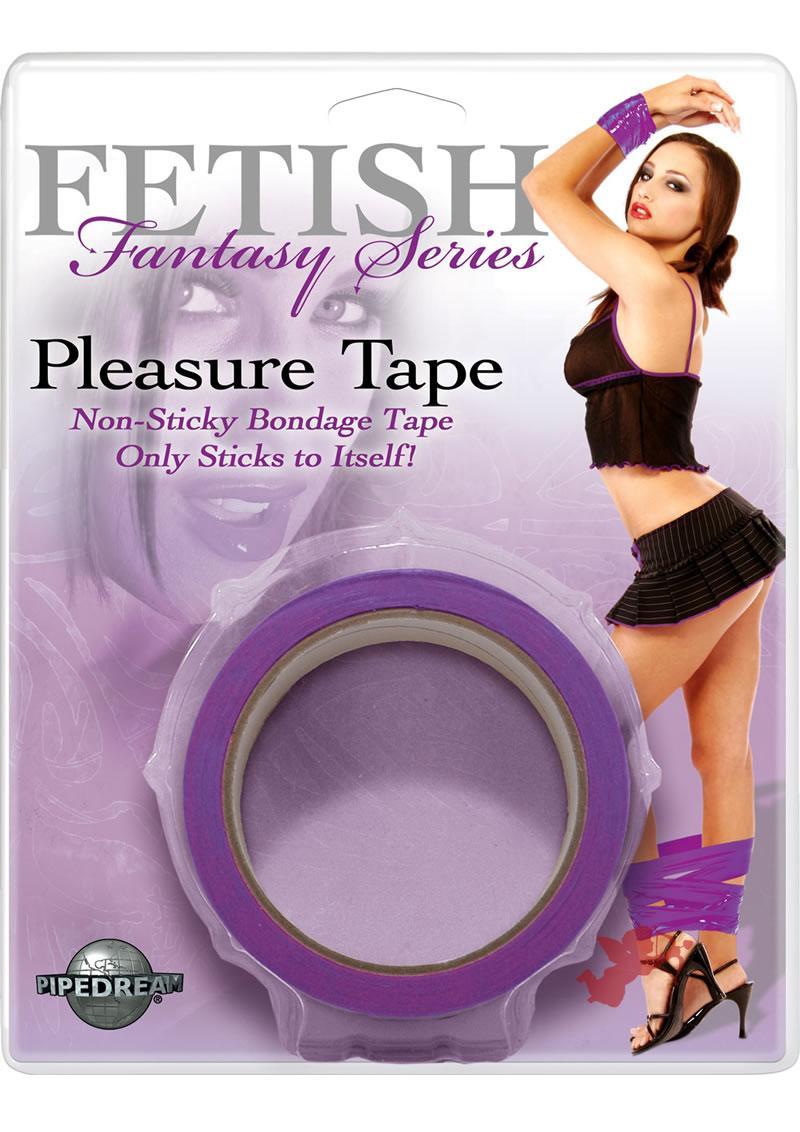Fetish Fantasy Pleasure Tape Purple