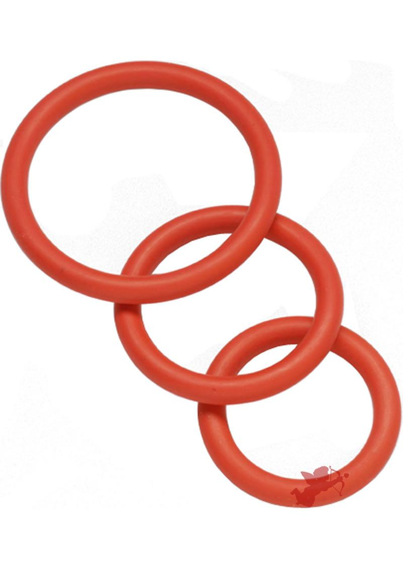 Red Nitrile C Ring Set