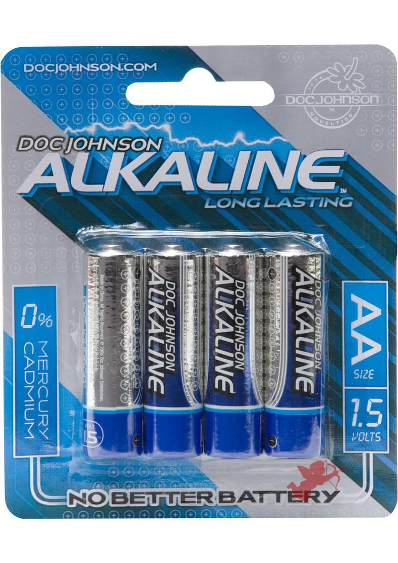 Doc Johnson AA 4 Pack Alkaline Battery