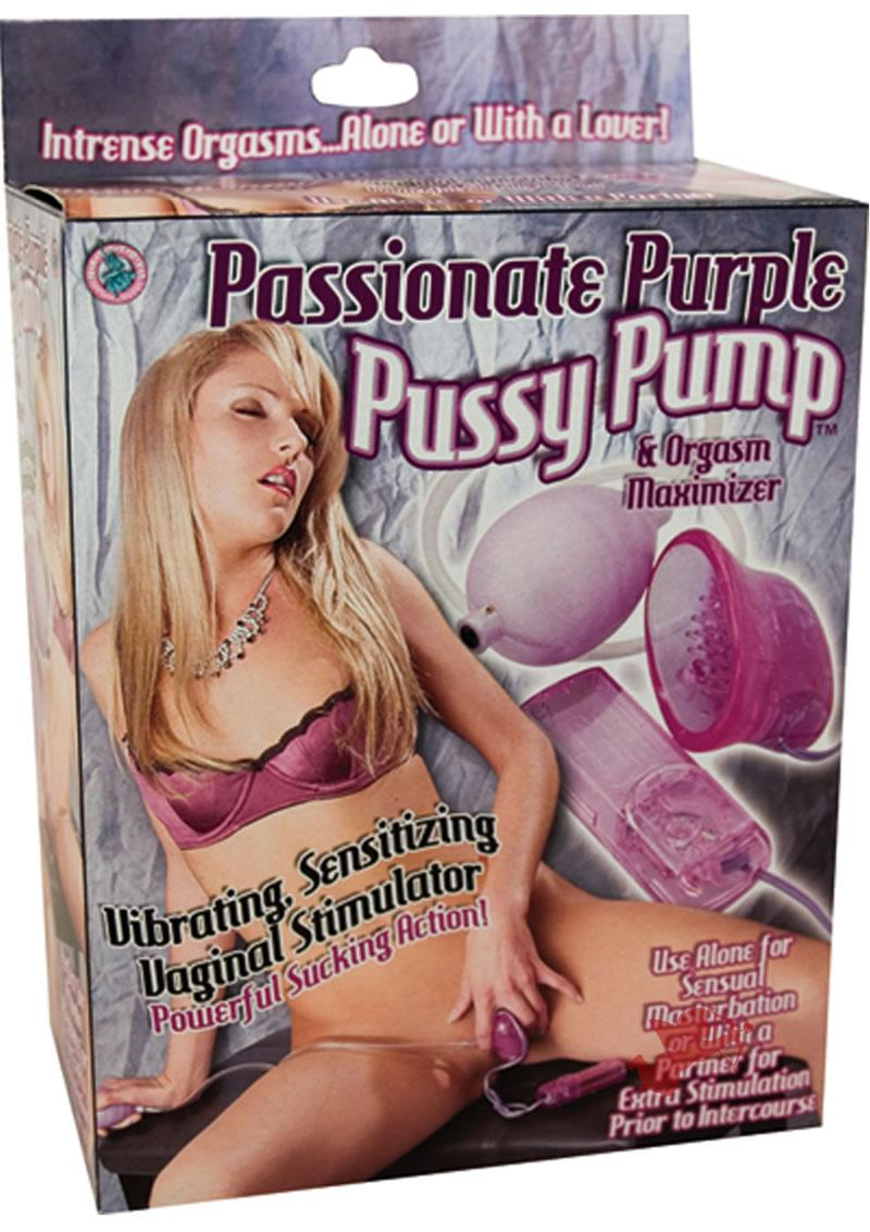 Passionate Pussy Pump - Purple