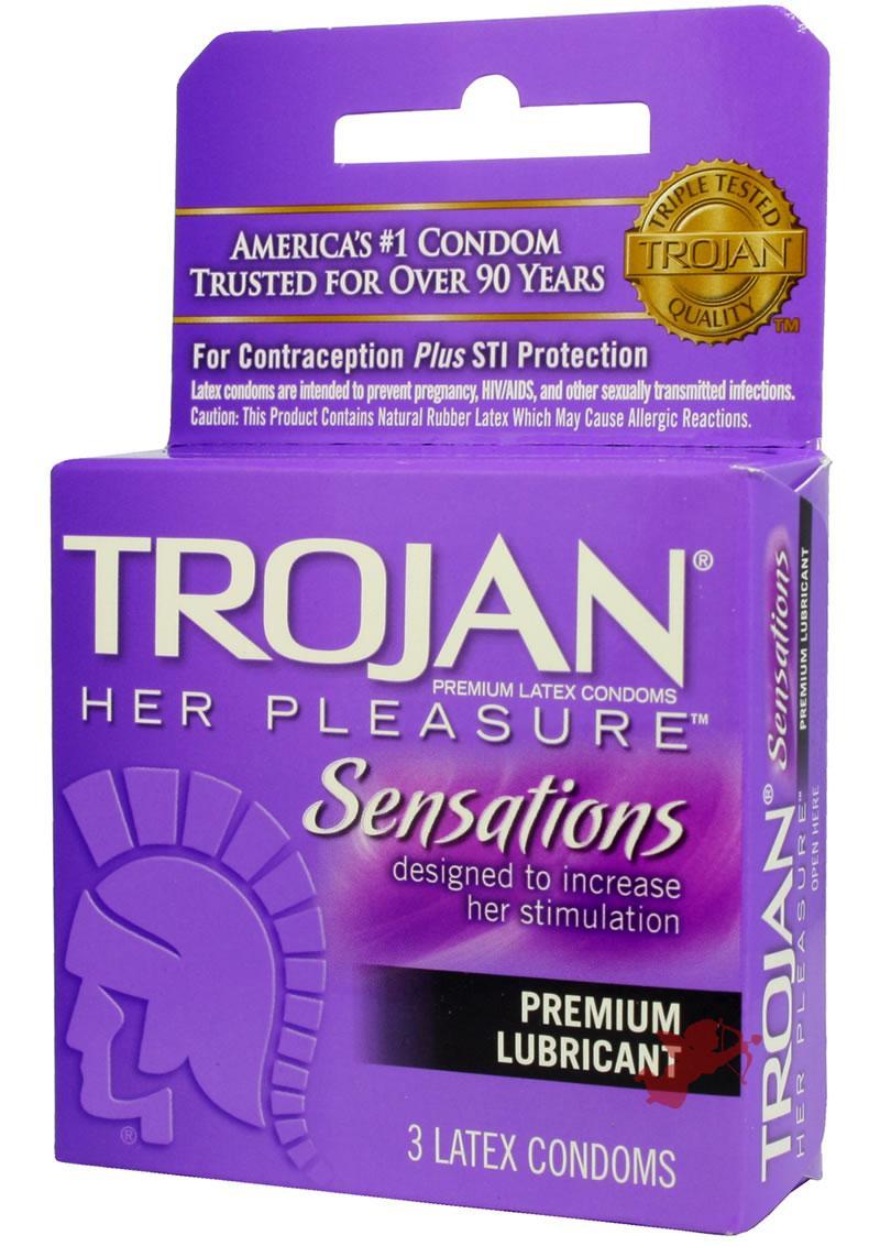 Trojan Her Pleasure Lub 3`s