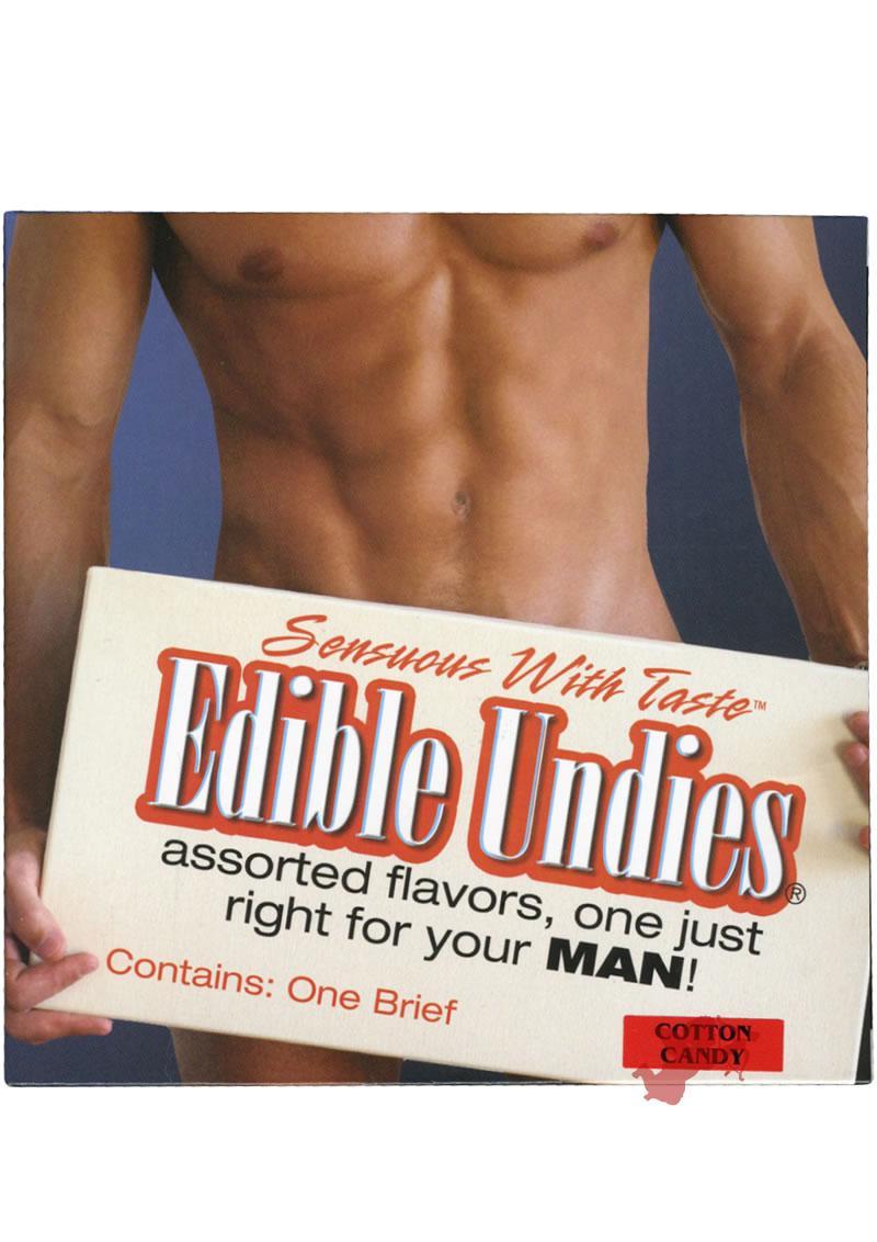Cotton Candy Edible Undies for Men