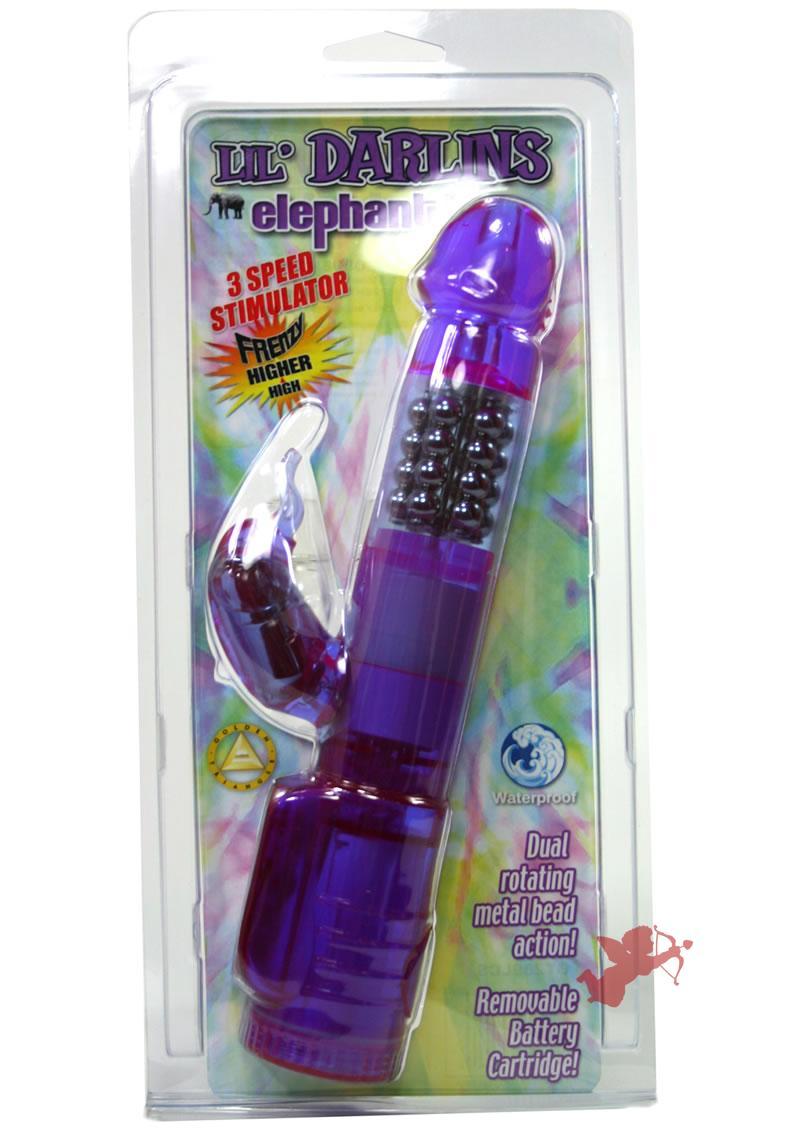 Lil Darlins Elephant - Lavender Waterproof