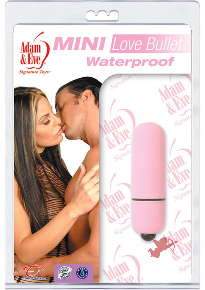 Mini Love Bullet Pink Waterproof