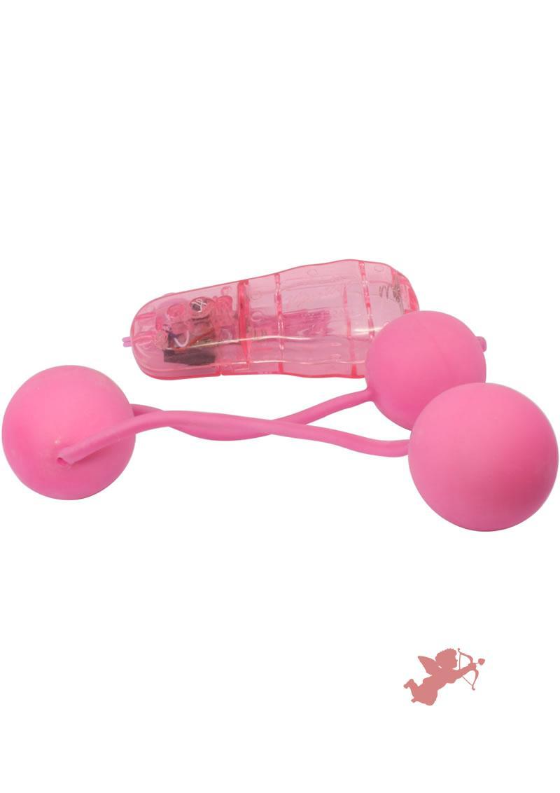 Real Skin Vibe Ben Wa Balls - Pink