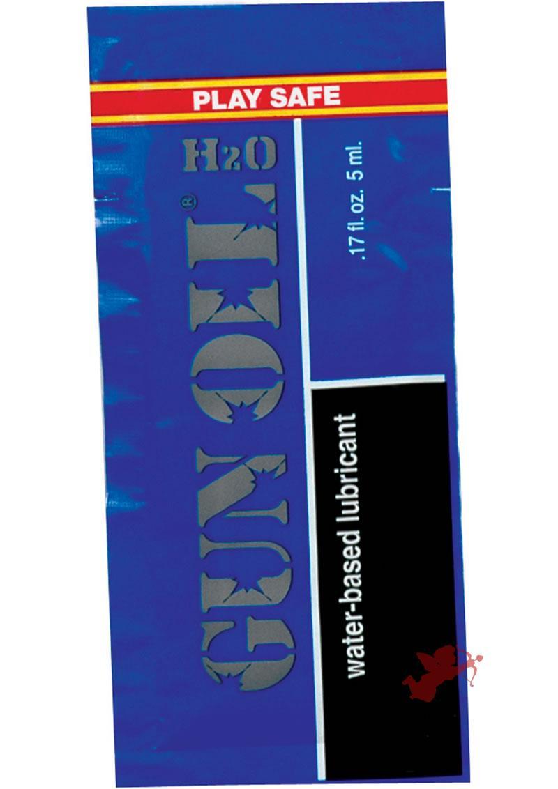 Gun Oil H20 .17oz Foil Pk - 50/bag