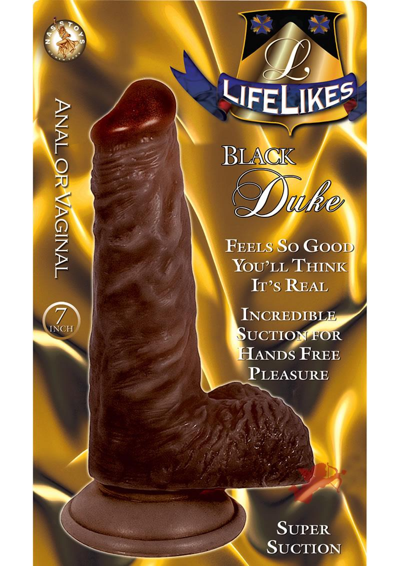 Lifelike Black Duke 7