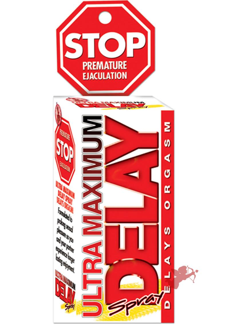 Stop Ultra Maximum Delay Spray