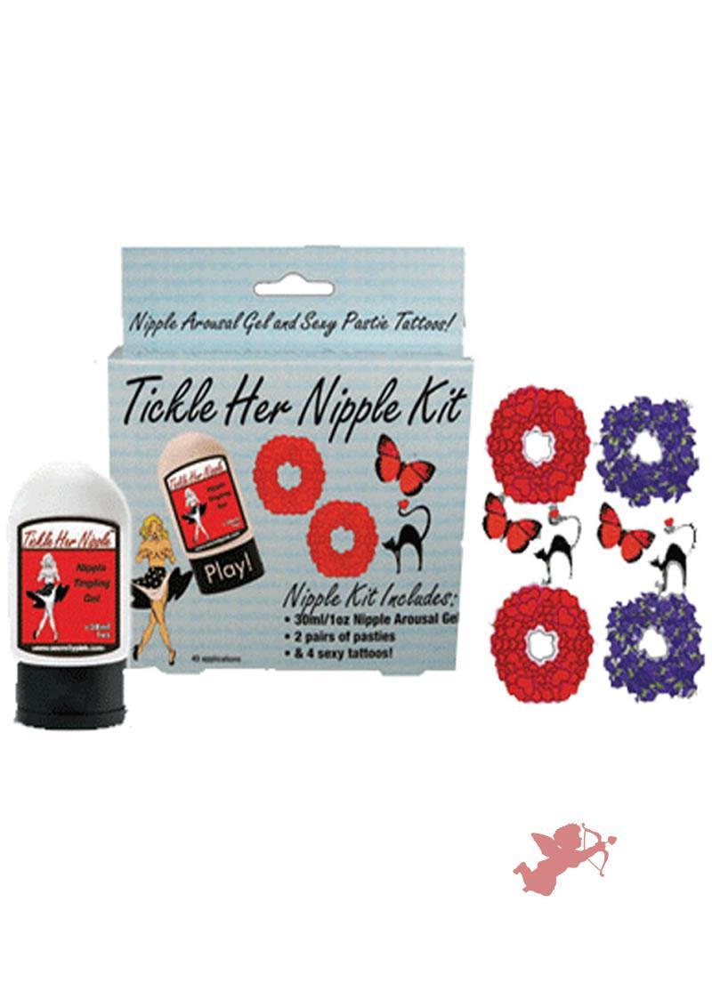Tickle Her Nipple Kit