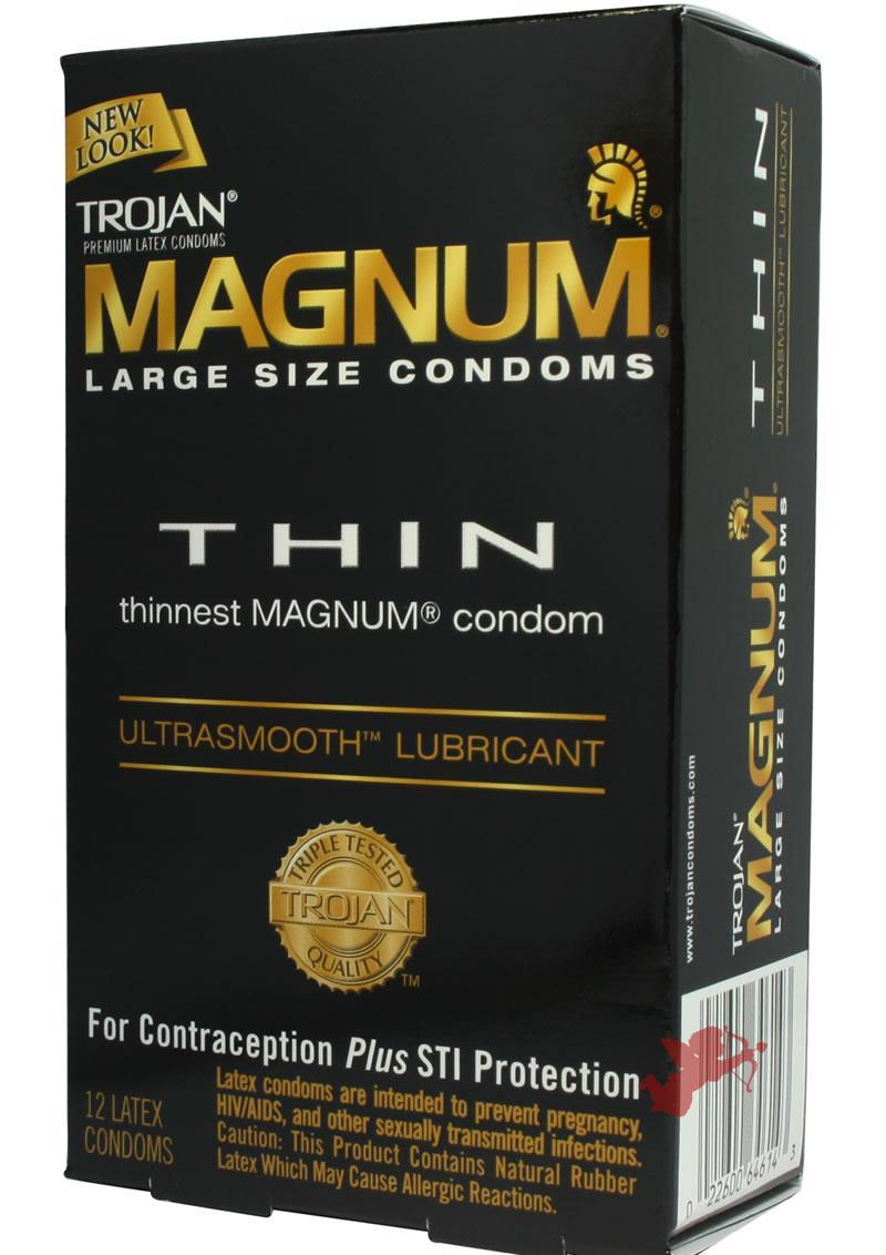 Trojan Magnum Thin 12`s