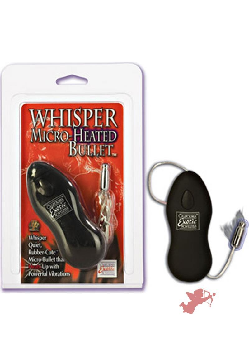Whisper Micro-heated Bullet - Black