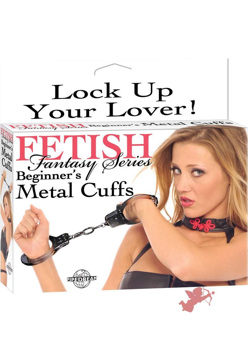 Fetish Fantasy Beginner's Metal Cuffs