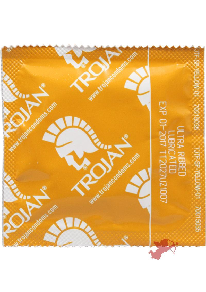 Trojan Ribbed 36`s