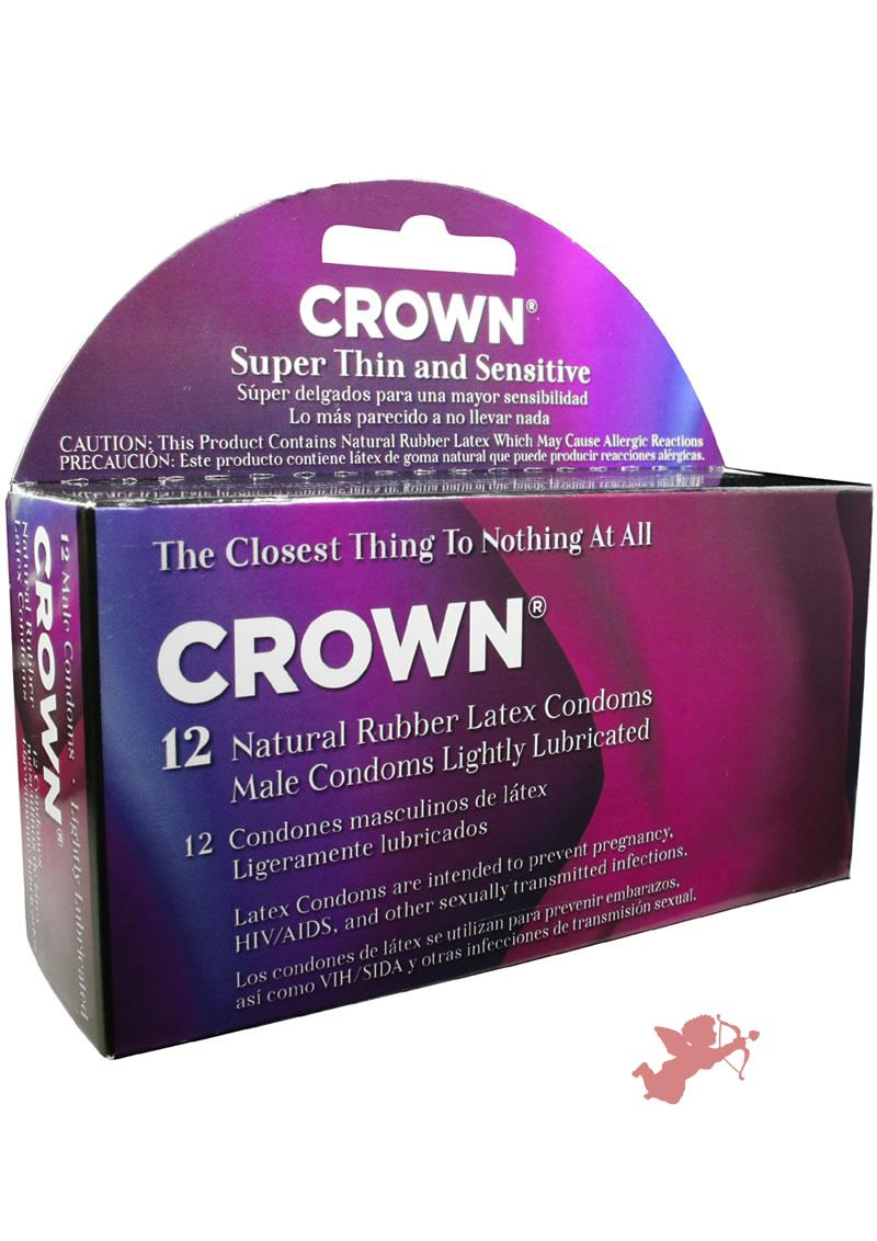 Crown Condoms 12 Pack
