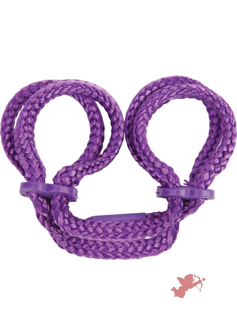 Japanese Anklecuffs - Purple