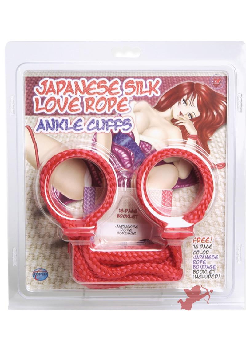 Japanese Anklecuffs - Red