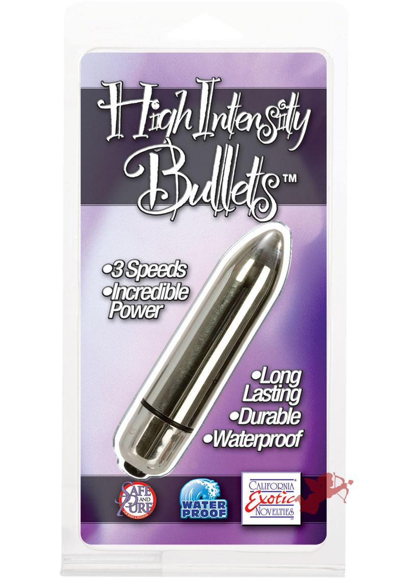 High Intensity Bullets - Silver