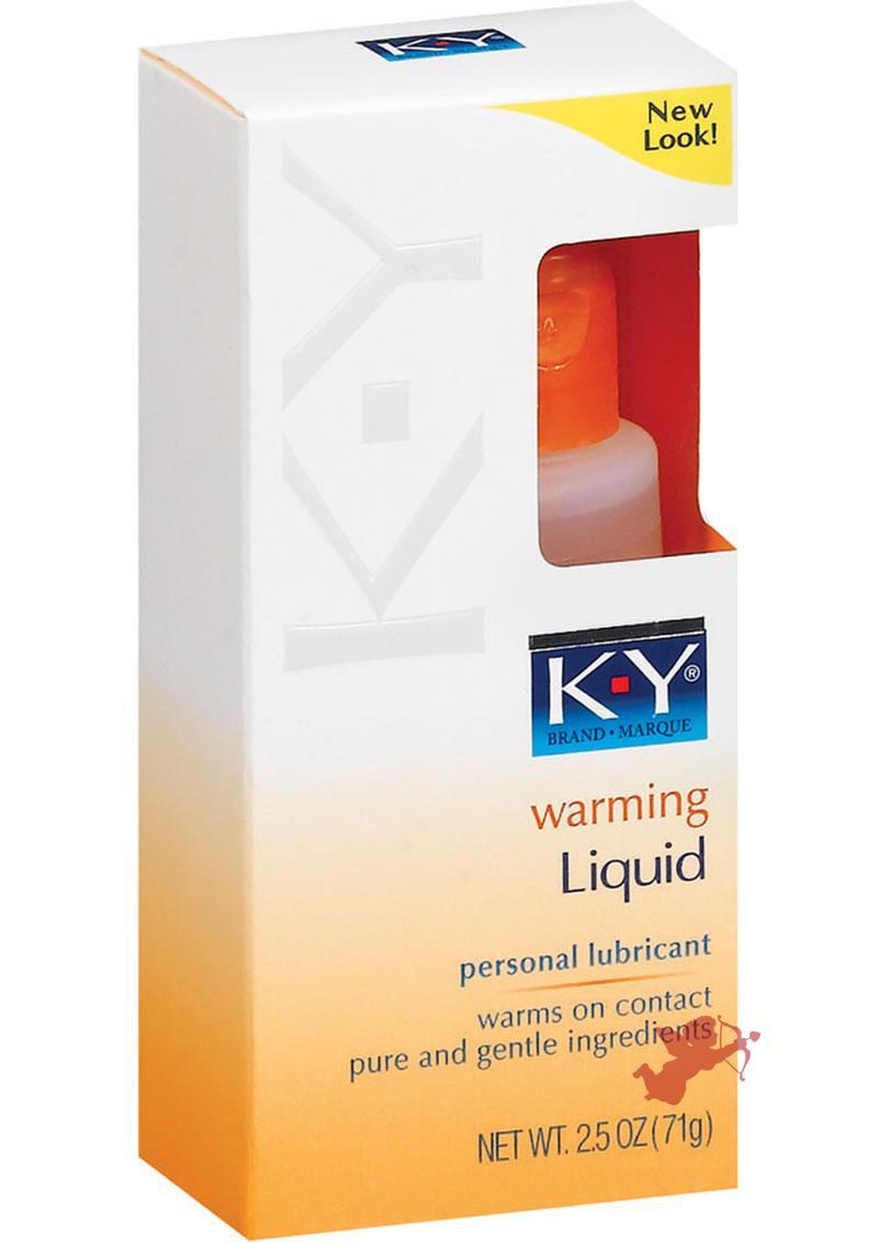 KY Warming Liquid 2.5 Ounce