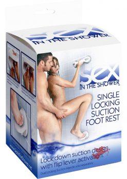 Single Locking Suction Foot Rest