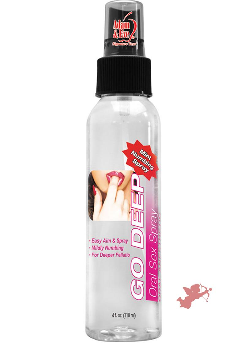 Go Deep Oral Sex Spray