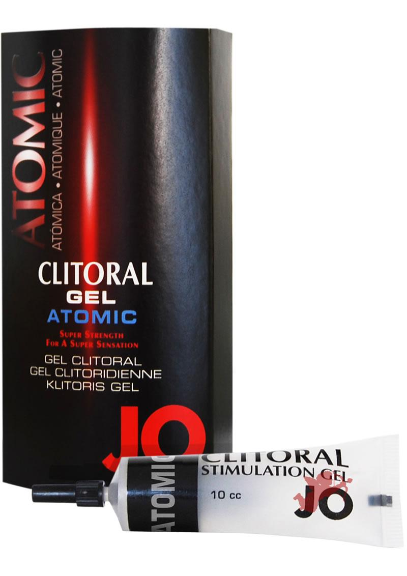 Jo Atomic Clitoral Gel 10cc