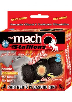 Macho Stallion Ring Black