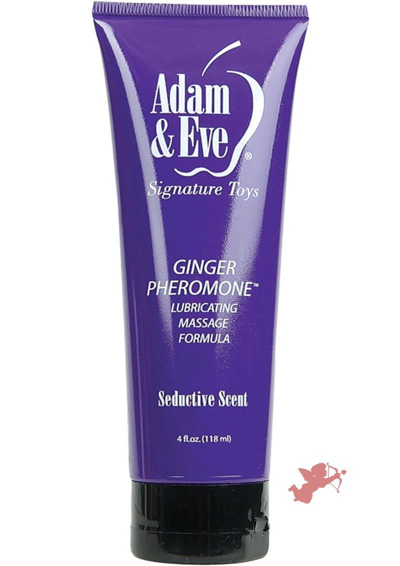 Ginger Pheromone Lube Massage