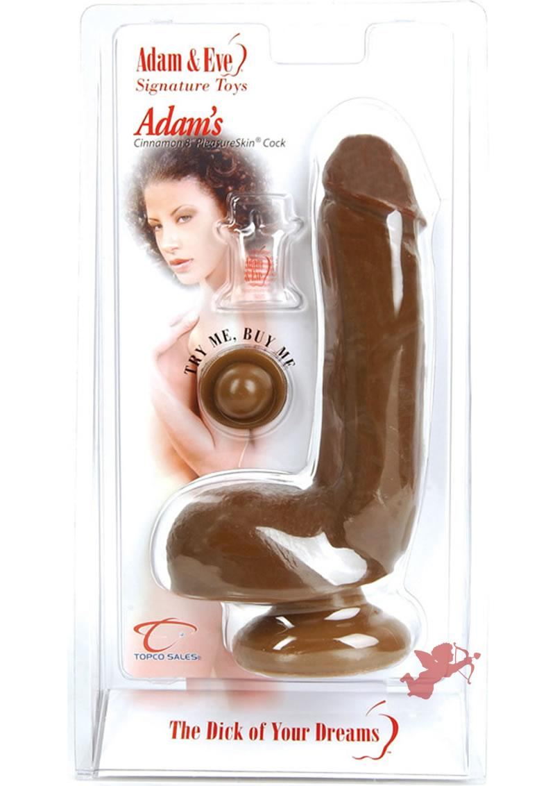Adam's Pleasurekin Cock Cinnamon