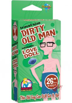 Travel Size Old Man Inflatable Doll