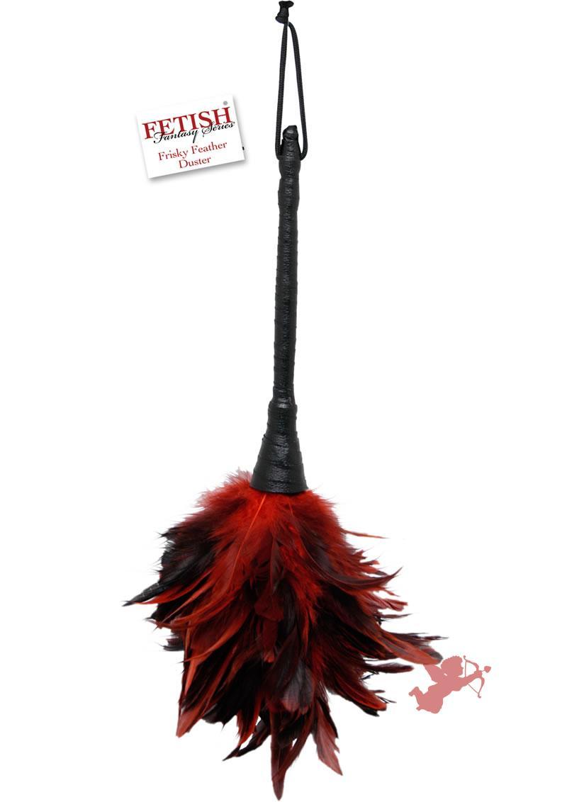 Fetish Fantasy Frisky Festher Duster Red