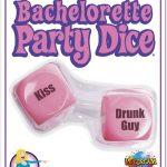 Bachelorette Party Favors Dice