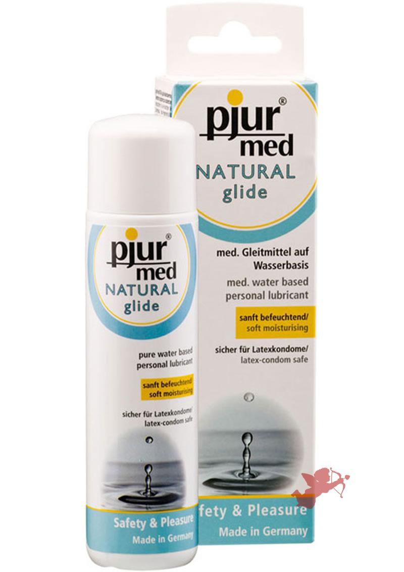 Pjur Med Natural Glide Water Based Lubricant 3.4 Ounce