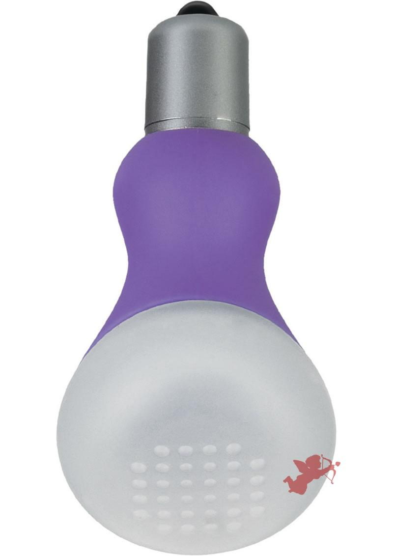 Foreplay Ice Frost Purple with Vibrator