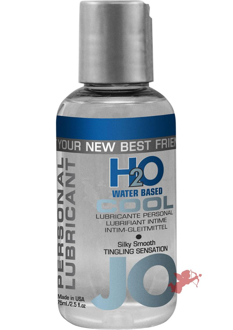 Jo H2O Cool Water Based Lubricant 2.5 Ounce