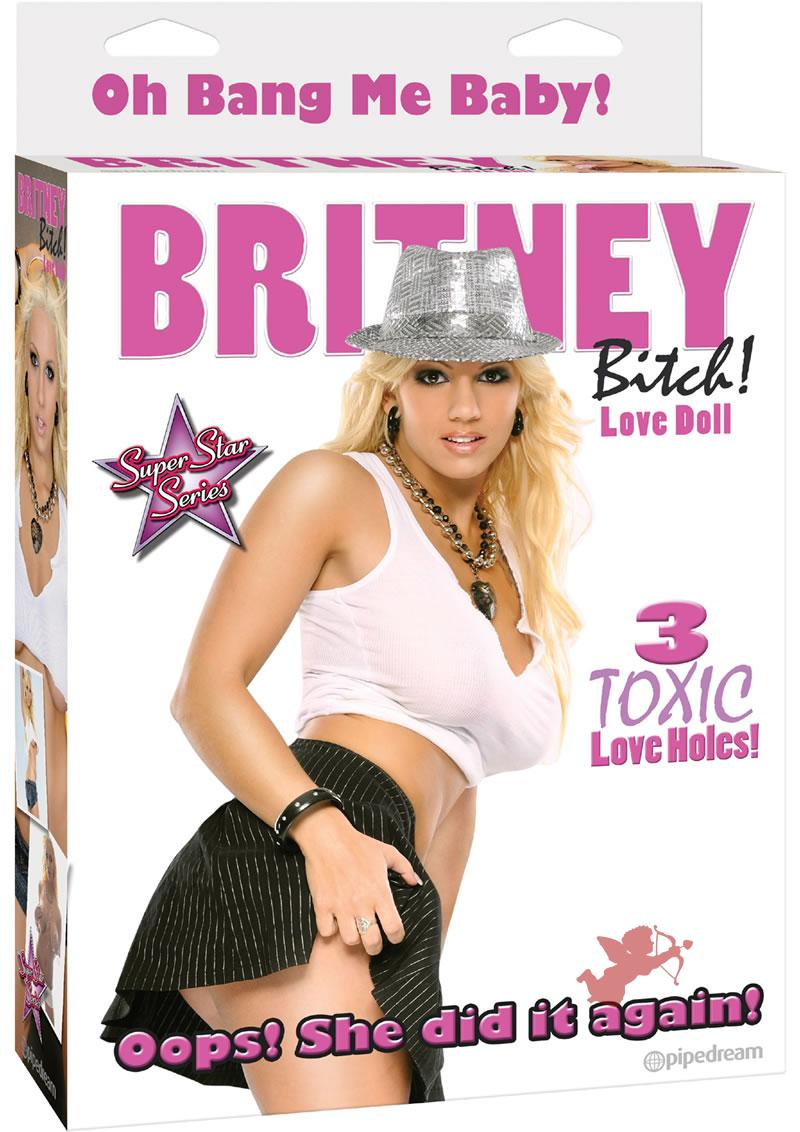 Britney Bitch Inflatable Love Doll