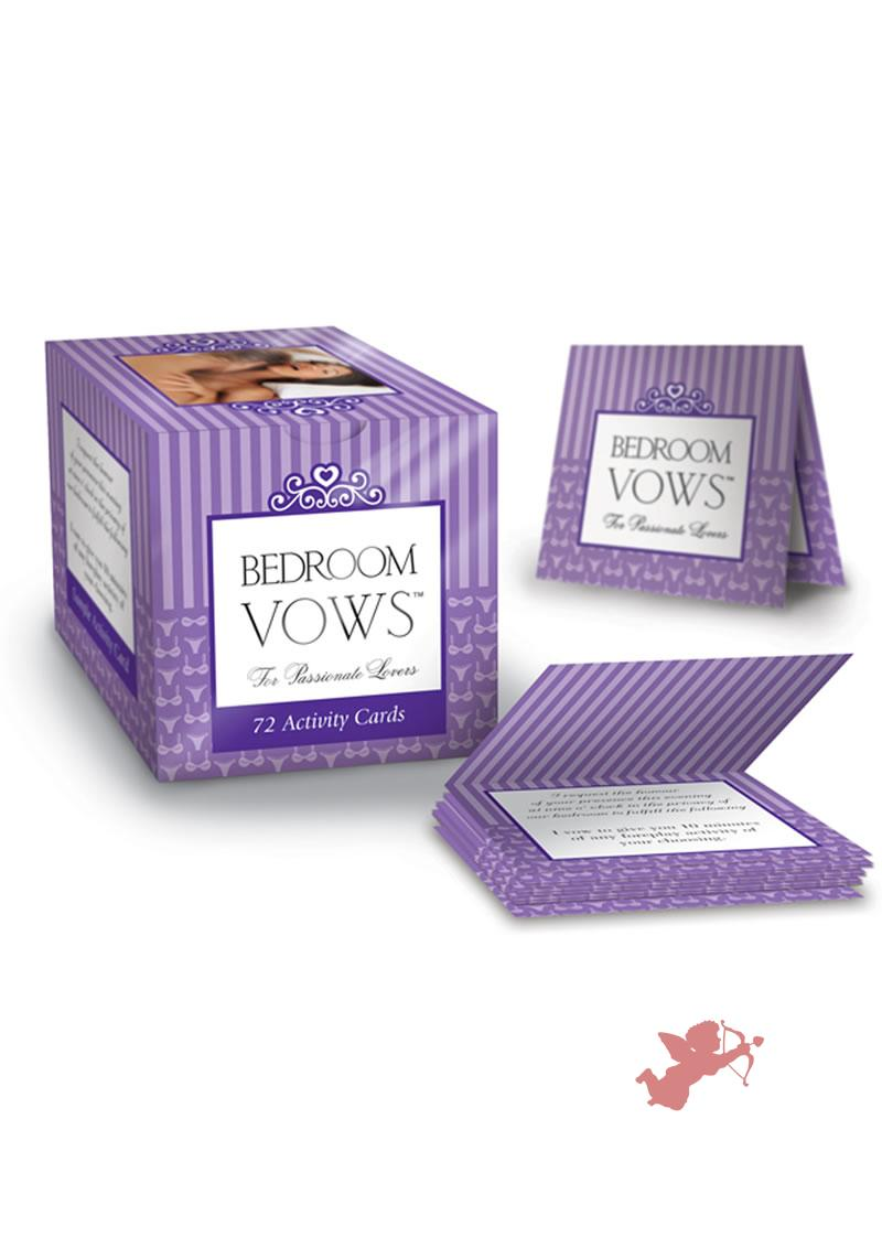 Bedroom Vows Activity Cards For Passionate Lovers