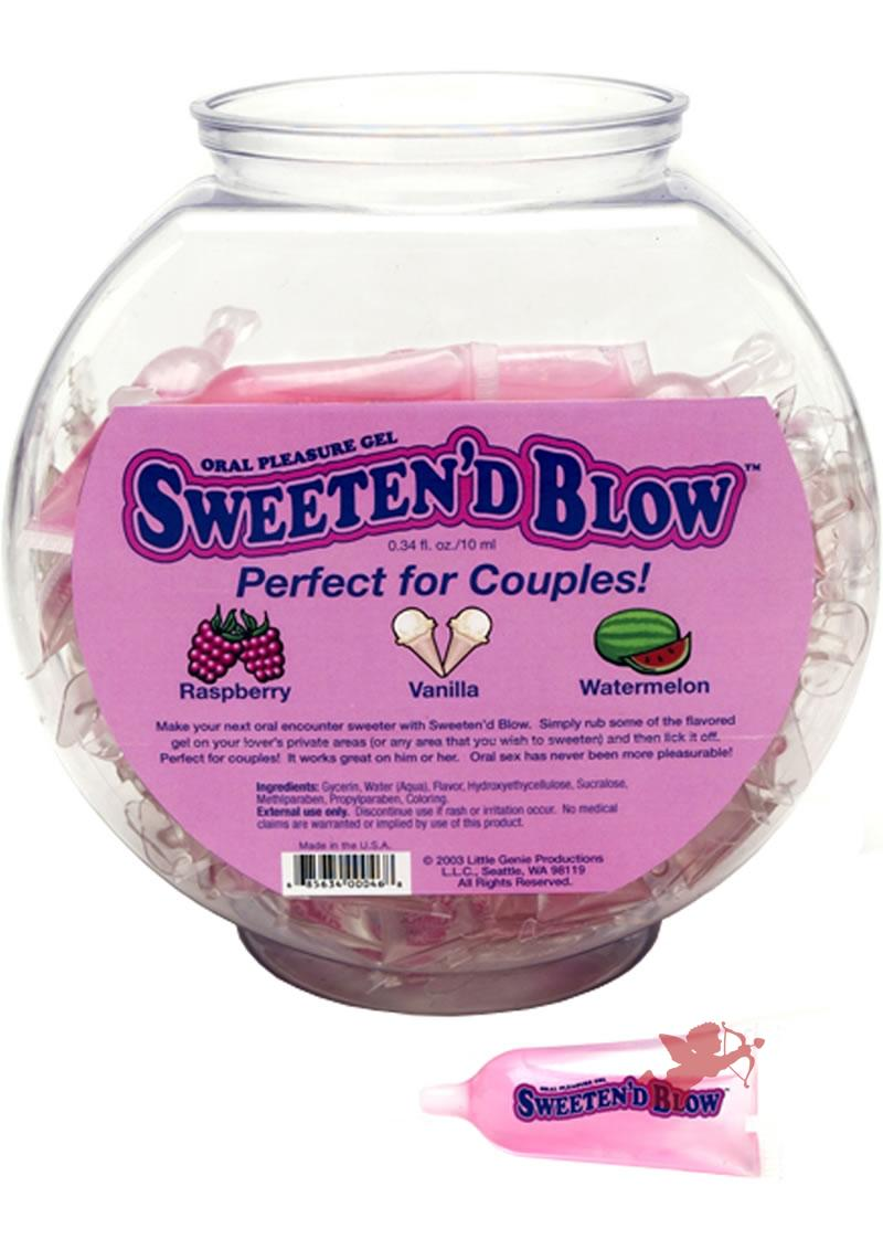 Sweeten'D Blow 3 Flavors 72 per bowl