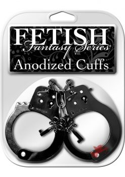 Fetish Fantasy Anodized Cuffs Black