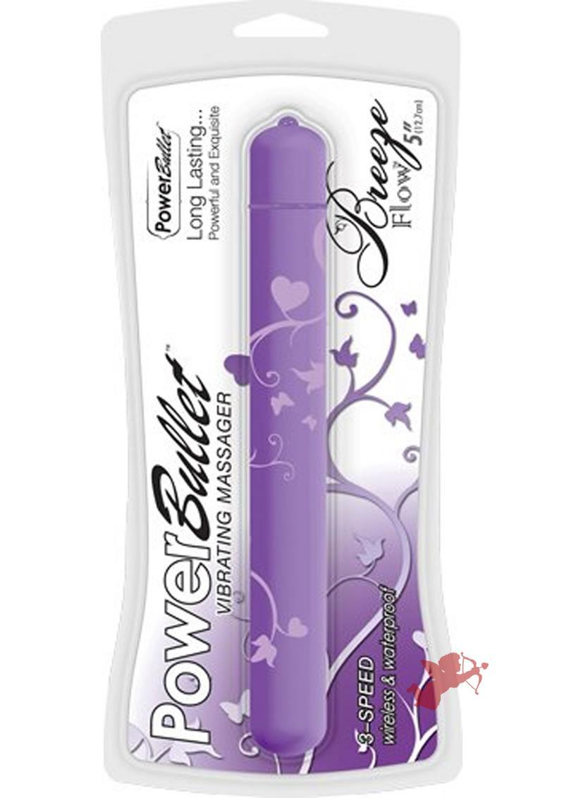 Breeze Flow Powerbullet 5 inch Purple