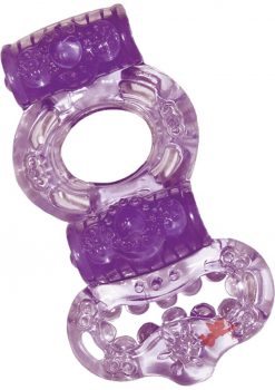 Macho Double Power Ring Purple