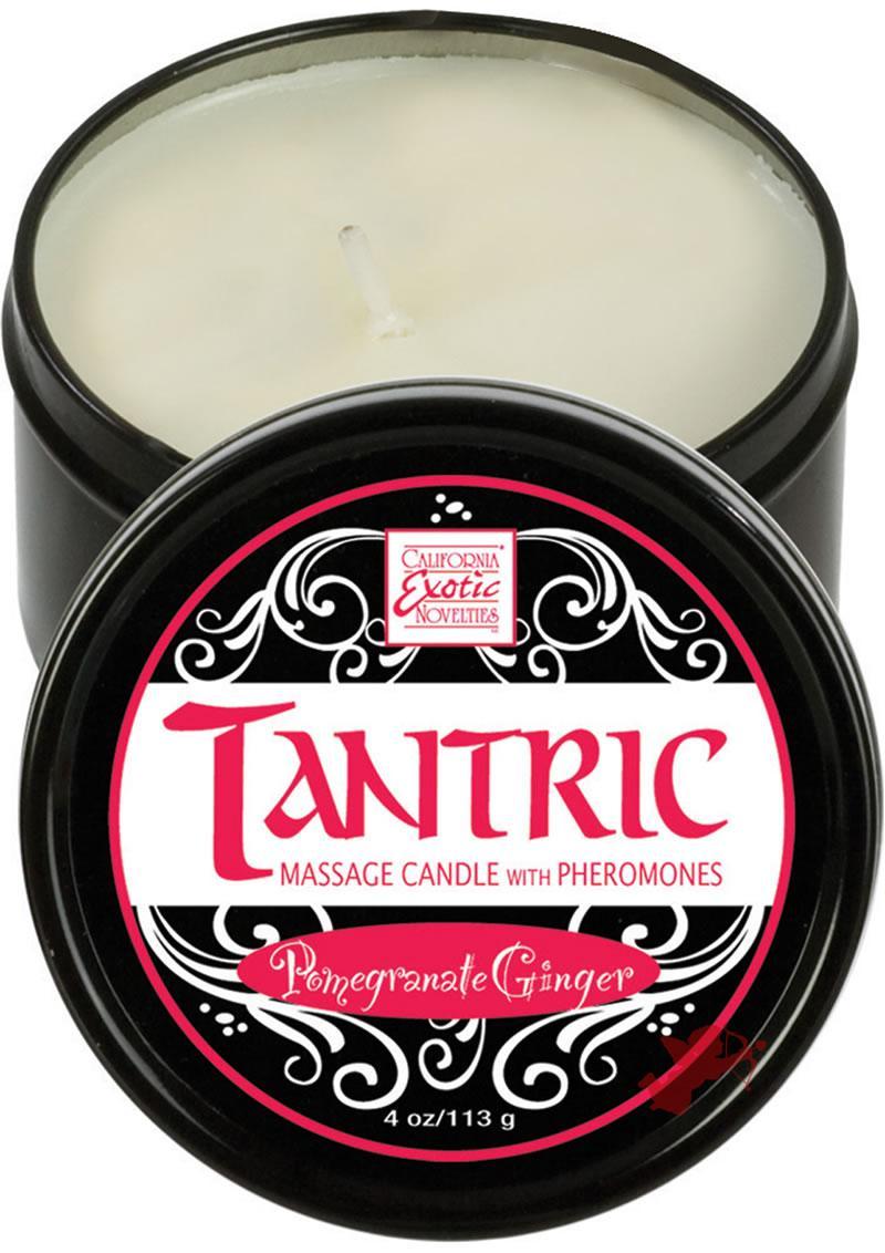 Tantric Massage Candle Pomegranate