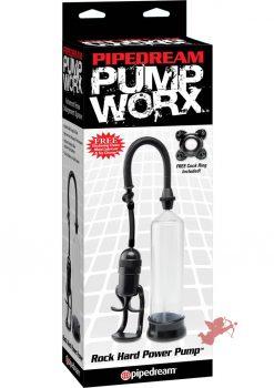 Pump Worx Rock Hard Power Pump With Cockring