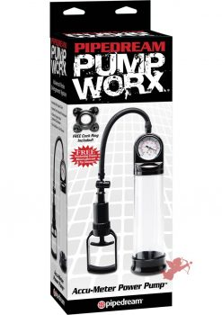 Pump Worx Accumeter Power Pump Clear