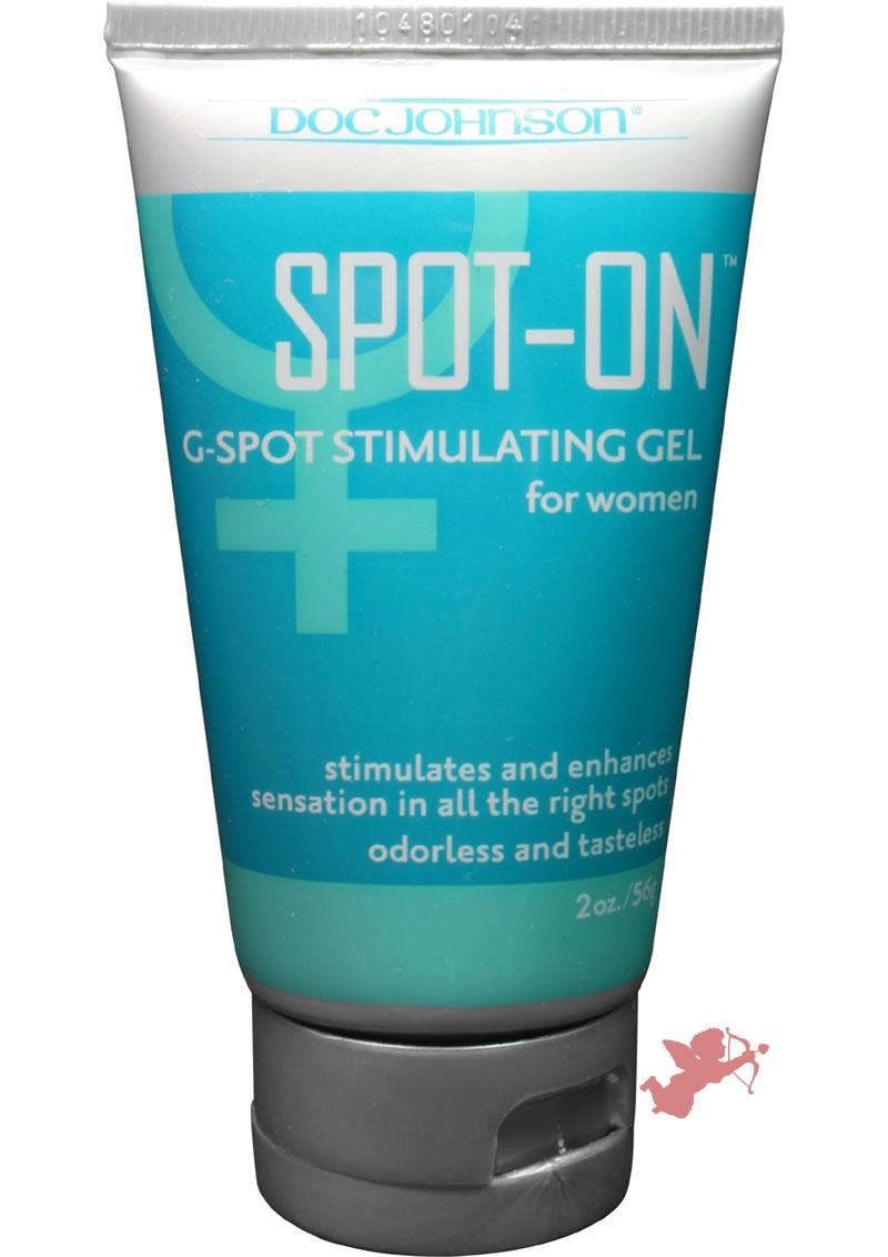 Spot On G Spot Stimulating Gel For Women 2 Ounce