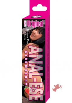 Anal Ese Flavored Desentizing Lubricant Strawberry 0.5 Ounce